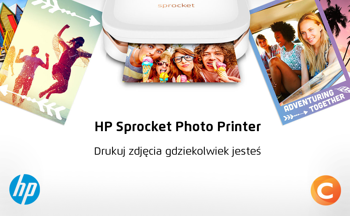 HP Sprocket Photo Printer - doskonale przenośna